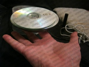Surely I should be able to spot a banana skin on top of a CD but no - it was well hidden