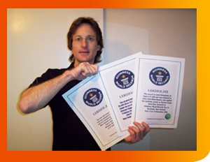 world record certificates